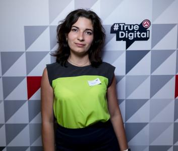 Юлия Лазарева на #TrueDigital