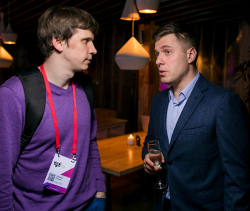 Николай Липкин, Яндекс.Еда и Юрий Вайсман, Artics Internet Solutions