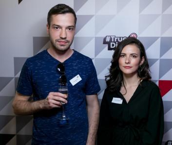Иван Воробьев и Виктория Кудрявцева на #TrueDigital