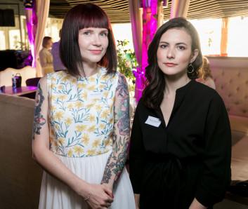 Красивые Мария Знаменская и Виктория Кудрявцева